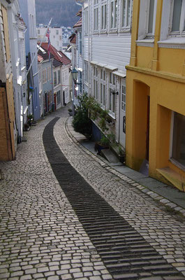 Gasse in Bergen