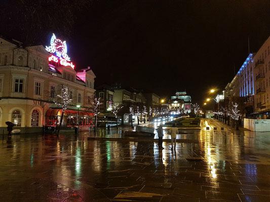 Abends in Bergen