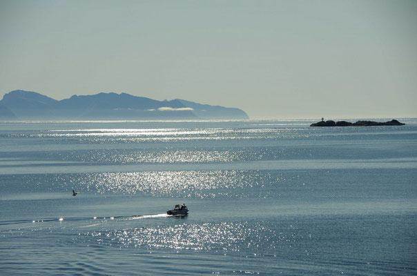 auf dem Weg nach Fiskebøl