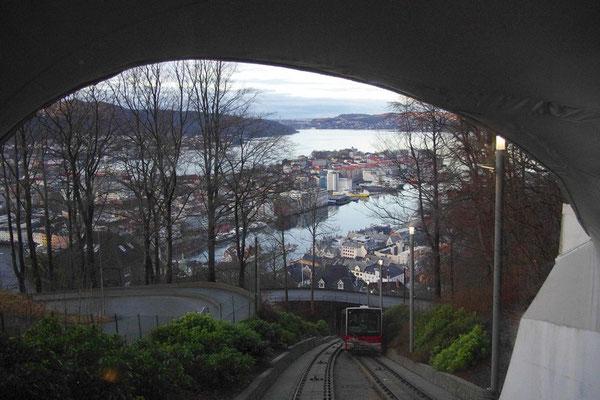 in der Fløyenbahn