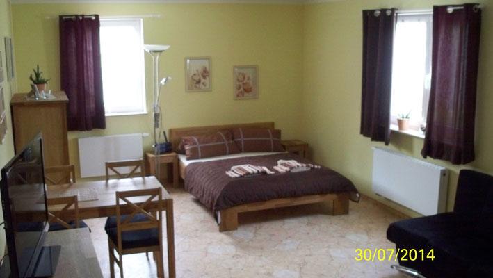 Schlafen in Wohnung 1