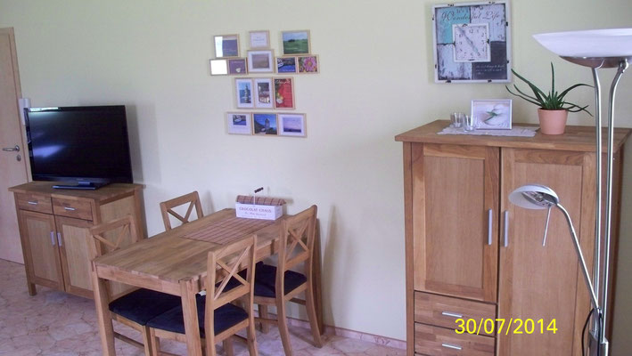 Wohnbereich von Wohnung 1