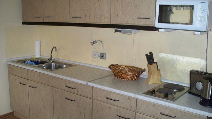 Küche in Wohnung 3