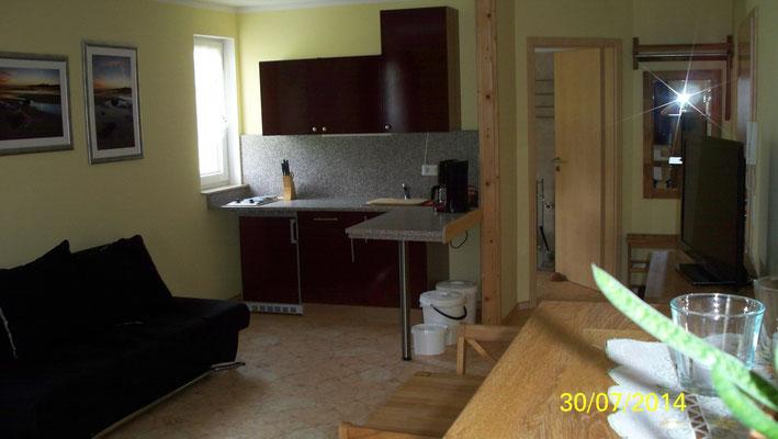 Singleküche der Wohnung 1