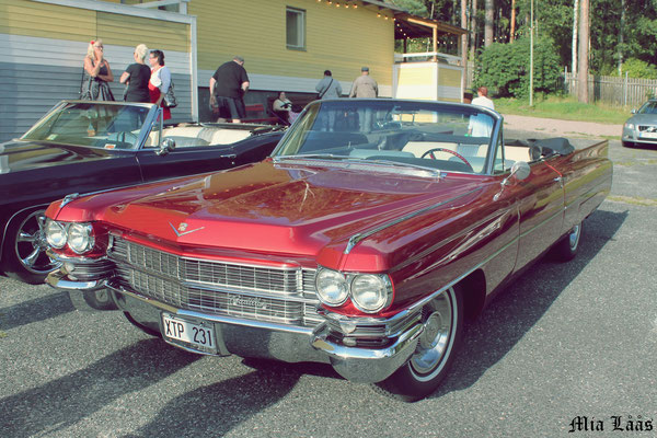 Hasse Norell - Cadillac Serie 62 cab -63