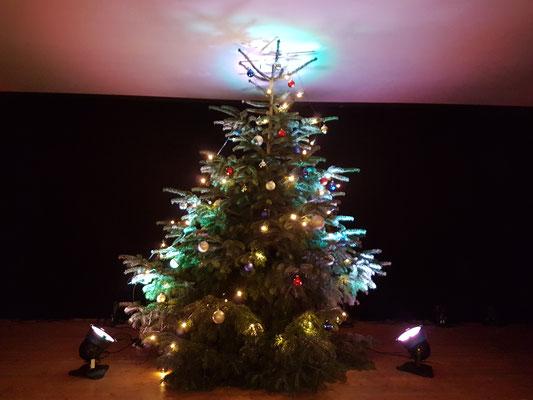 Black OX Weihnachtsbaum