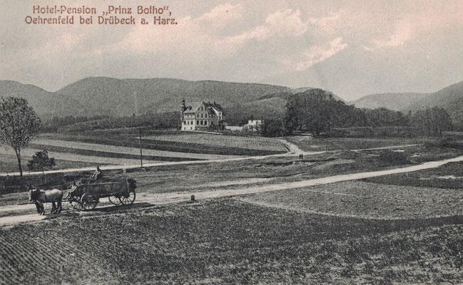 Oehrenfeld, um 1905, Hotel Prinz Botho