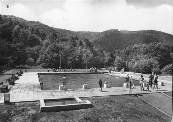 Darlingerode, um 1975, Sandtalbad (Autor:E. Riehn, Wernigerode)