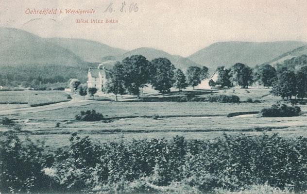 Oehrenfeld, 1906, Hotel Prinz Botho