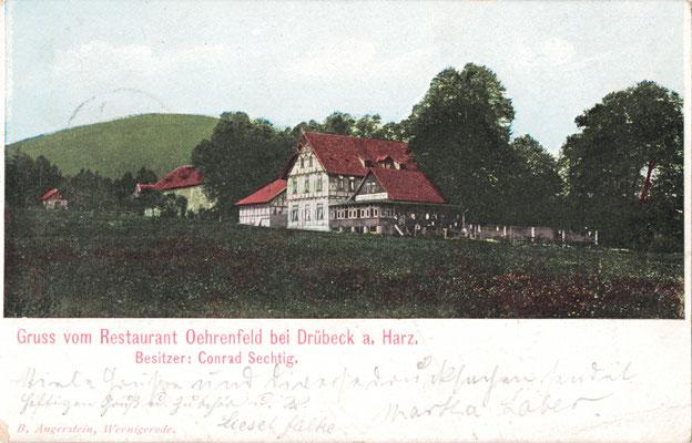 Oehrenfeld, 1906, Pension Waldhaus