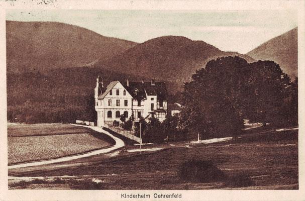 Oehrenfeld, 1926, Herrmann-Johanna-Kinderheim