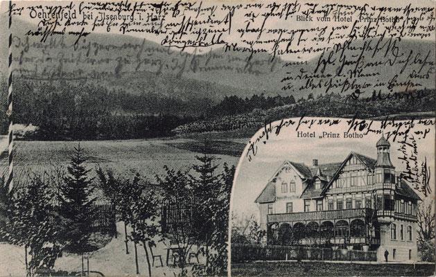 Oehrenfeld, 1911, Hotel Prinz Botho