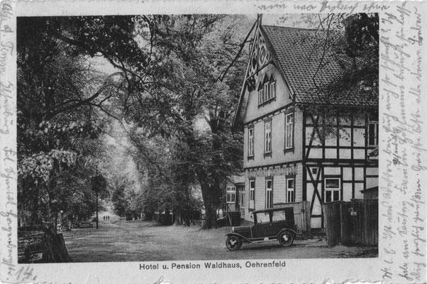 Oehrenfeld, 1927, Pension Waldhaus