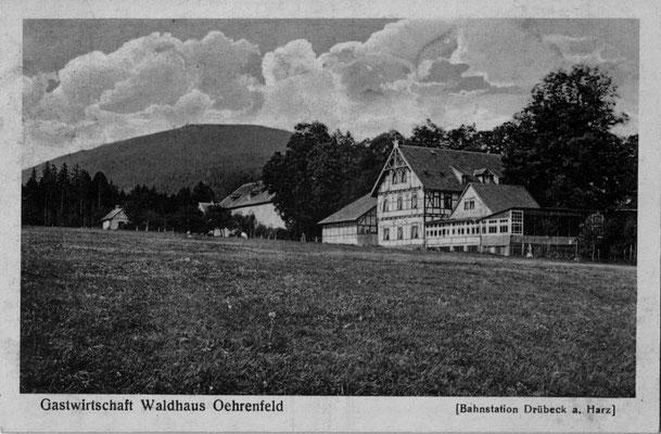 Oehrenfeld, 1916, Pension Waldhaus