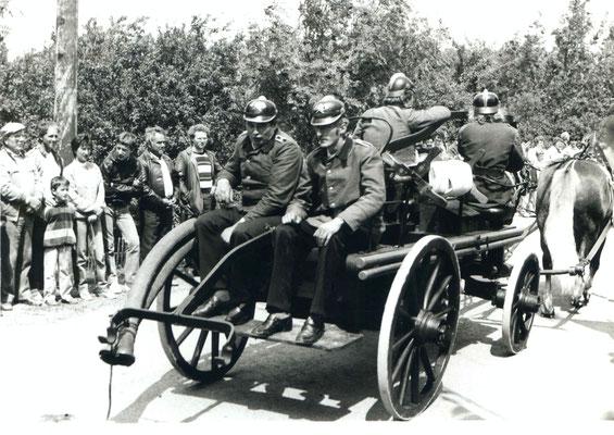 1986 - 75 Jahre Feuerwehr