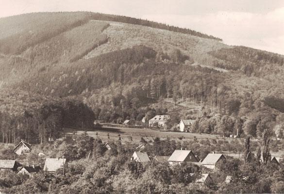 Darlingerode, 1970, Blick Richtung Oehrenfeld mit Halberstädter Berg