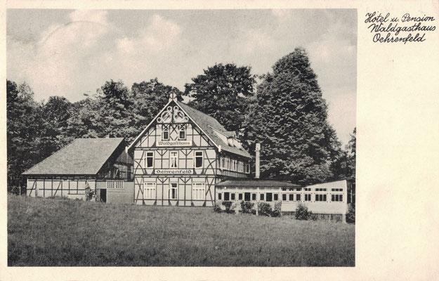Oehrenfeld, 1940, Pension Waldhaus