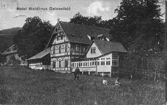 Oehrenfeld, 1910, Pension Waldhaus