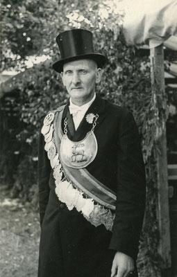 Wilhem Wolf Schützenkönig 1939 auf dem ersten Darlingeröder Schützenfest nach dem 2. Weltkrieg im Jahre 1957