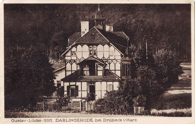 Lückestift Darlingerode, 1928