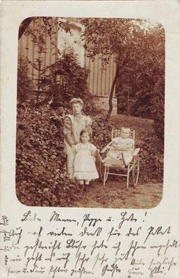 Altenrode, 1906, am Pfarrhaus