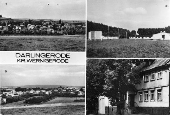 "Darlingerode, 1985, mit Konsumgaststätte ""Lindenhof"" und Ferienlager ""A.S. Makarenko"" (Autor: Pingel, Heiligenstadt)"