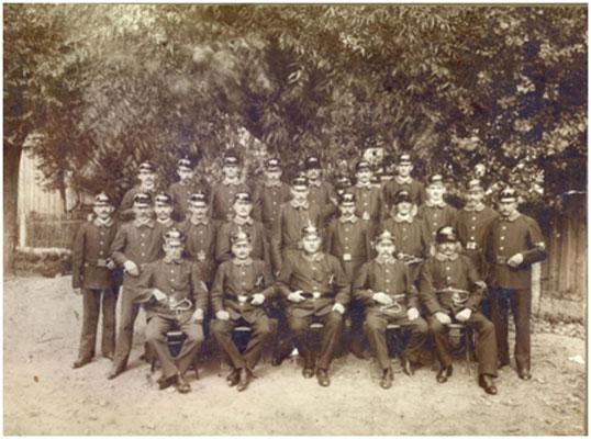 Die Gründer der Feuerwehr von 1911