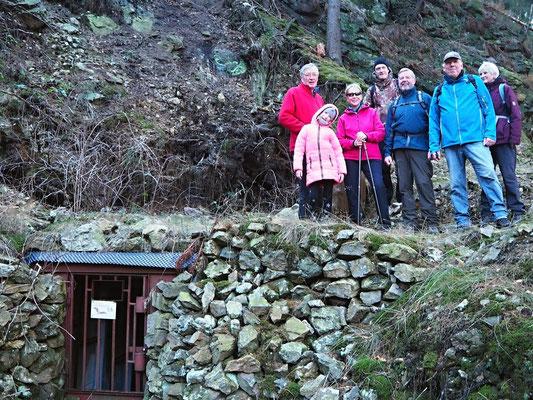 Mitglieder des Heimatvereins im Sandtal