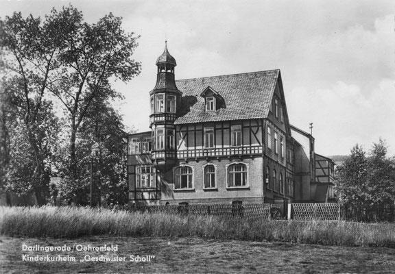 Oehrenfeld, nach 1964, Geschwister-Scholl-Heim der Volkssolidarität