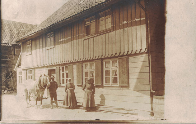 Altenrode, um 1900, Auf dem Becker'schen Hof