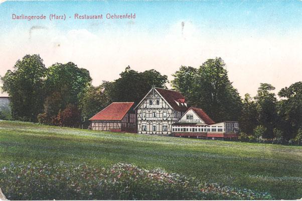 Oehrenfeld, 1942, Pension Waldhaus