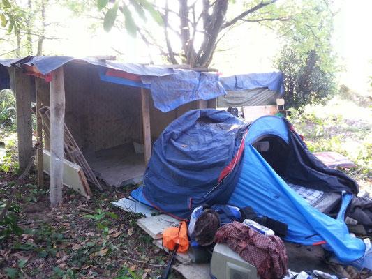 et une tente !
