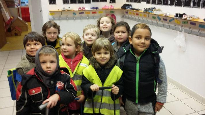 Alexandru avec quelques camarades