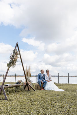 heiraten am Bodensee, Hochzeitsfotograf, Hochzeit Ostschweiz, Boho Hochzeit, Thurgau