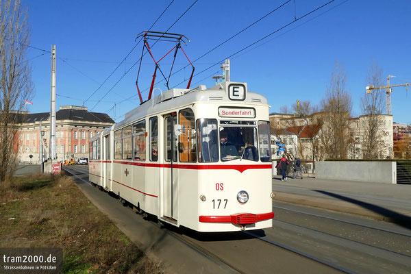 ... Gotha-Gelenkwagen 177 rollen wieder