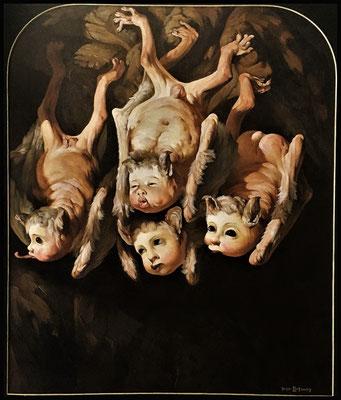 Meine Blutsauger // My bloodsuckers // 我的小吸血鬼们, 2006, 180 x 150 cm