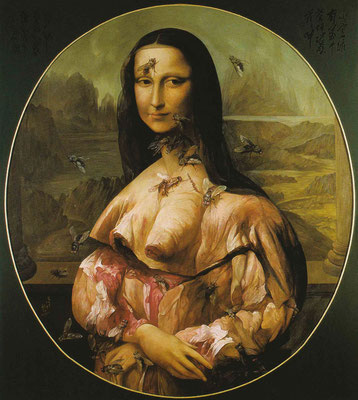 Mona Lisa // 蒙娜丽莎, 1995, 180 x 160 cm