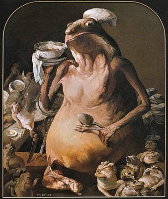Die fetten Jahre sind vorbei // The fat years are over // 富裕的日子过去了, 2006, 180 x 150 cm
