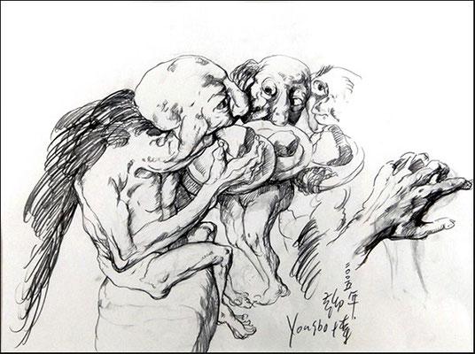 Geieromas // Vulture grandmas // 秃鹫奶奶, 2005