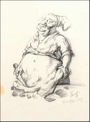 Fetter Koch // Fat cook // 胖厨师, 2005