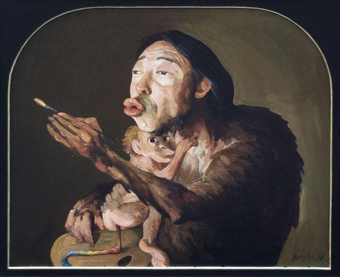Die Palette des Künstlers // The artist's palette // 艺术家的调色盘, 2008, 100 x 120 cm
