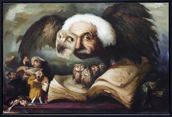 Die Feinde der Weisheit I // The enemies of wisdom I // 文明最大的敌人是愚蠢  (之一], 2017, 160 x 240 cm