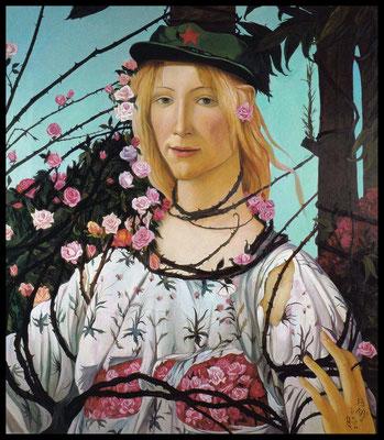 Frühling // Spring // 春天, 1994, 180 x 160 cm