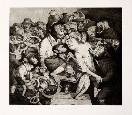 Bayerische Leidenschaft // Bavarian passion // 巴伐利亚州人的激情, 2007, 44,5 x 51,5 cm