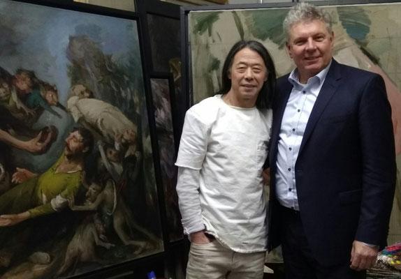 With Munich's mayor Dieter Reiter, november 2017