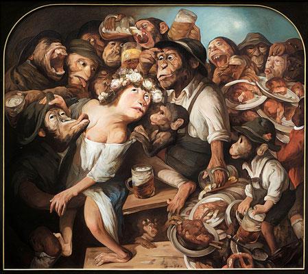 Bayerische Leidenschaft I // Bavarian Passion I // 巴伐利亚州人的激情 (之一), 2006, 160 x 180 cm