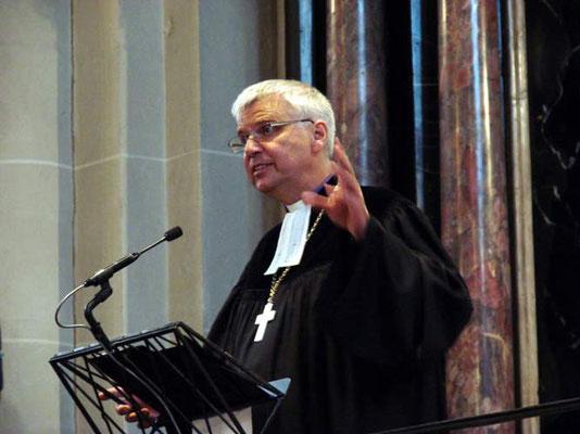 Landesbischof Dr. Johannes Friedrich, Leitender Bischof der VELKD und Mitglied des Rates der EKD (Hauptzelebrant)