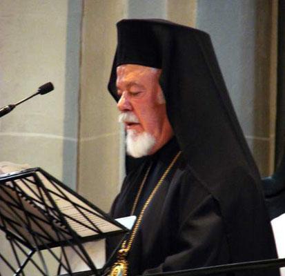 Metropolit Augoustinos von Deutschland, Vorsitzender der Kommission der Orthodoxen Kirche in Deutschland (Hauptzelebrant)