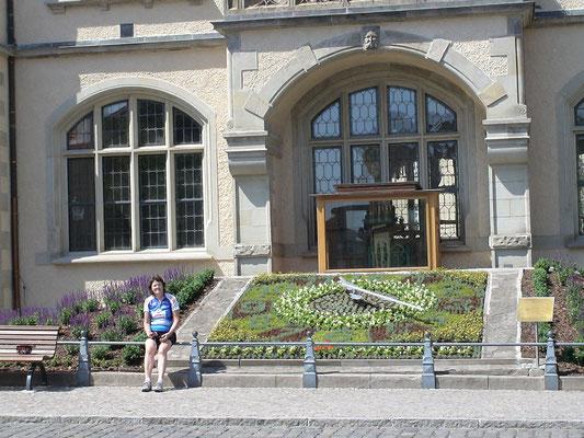 Bernburg, Blumenuhr