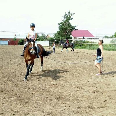 Лошади и дети в Самаре